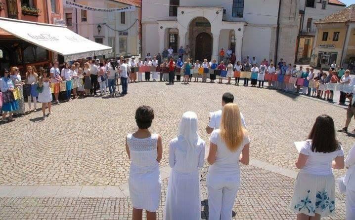 Tuzla: Obilježavanje 23. godišnjice genocida u Srebrenici