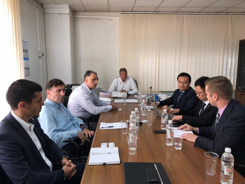 Kineska državna građevinska korporacija ispituje mogućnosti investiranja u MAT
