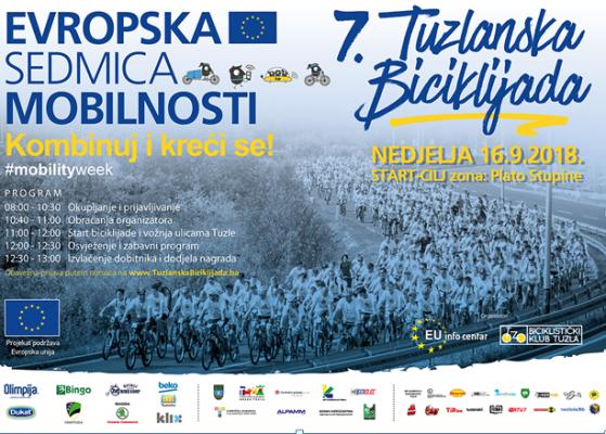 Više od 2000 prijavljenih učesnika na 7. tradicionalnoj Tuzlanskoj biciklijadi