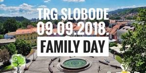 Family Day: Druženje za cijelu porodicu 9. septembra na Trgu Slobode