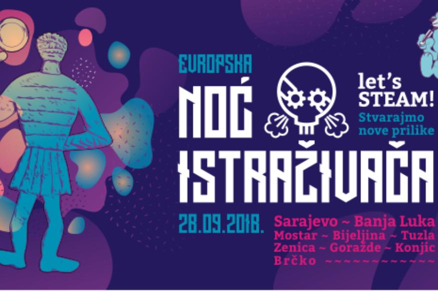 Evropska Noć istraživača BiH 2018 u Tuzli