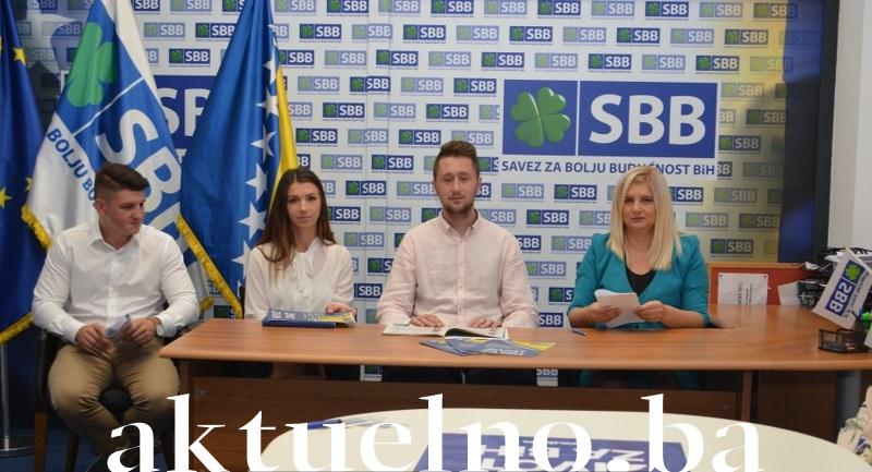 Press konferencija Mladih SBB-a TK: Krajnje je vrijeme da mladi urade nešto za sebe FOTO/VIDEO