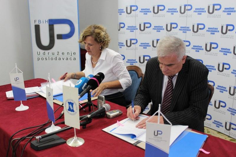 Potpisan Kolektivni ugovor o pravima i obavezama poslodavaca i radnika  za djelatnost tekstilne, kožarsko-prerađivačke, gumarske i industrije obuće