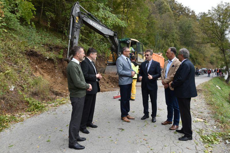 Nastavljen projekat rekonstrukcije regionalne putne mreže