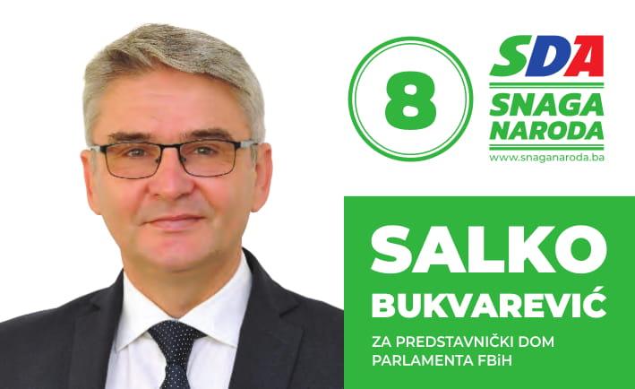 Predstavljamo kandidate: Salko Bukvarević, kandidat za Predstavnički dom Parlamenta FBiH