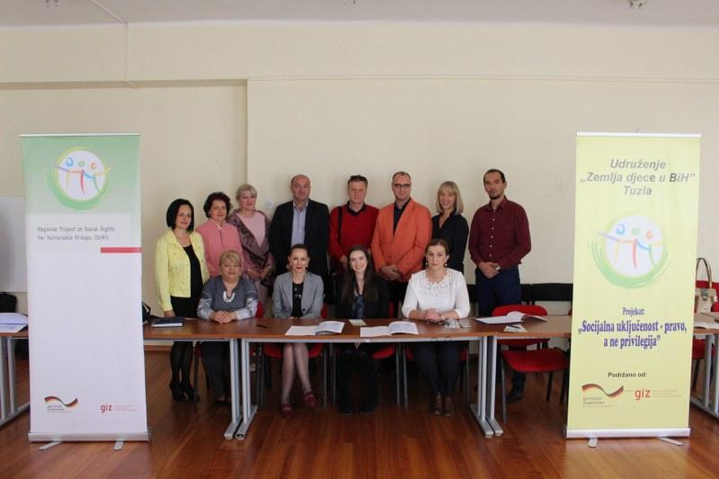Potpisan Sporazum o saradnji Radne grupe za sigurnost i zaštitu djece grada Tuzle