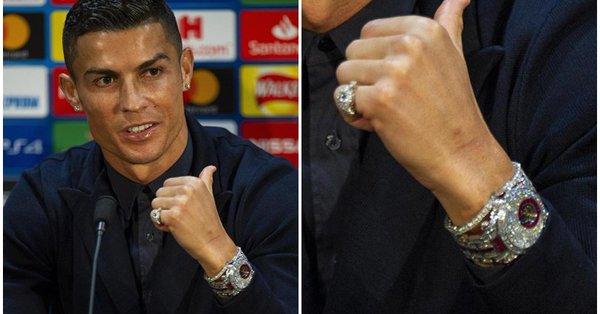 Nećete vjerovati koliko vrijedi sat Cristiana Ronalda