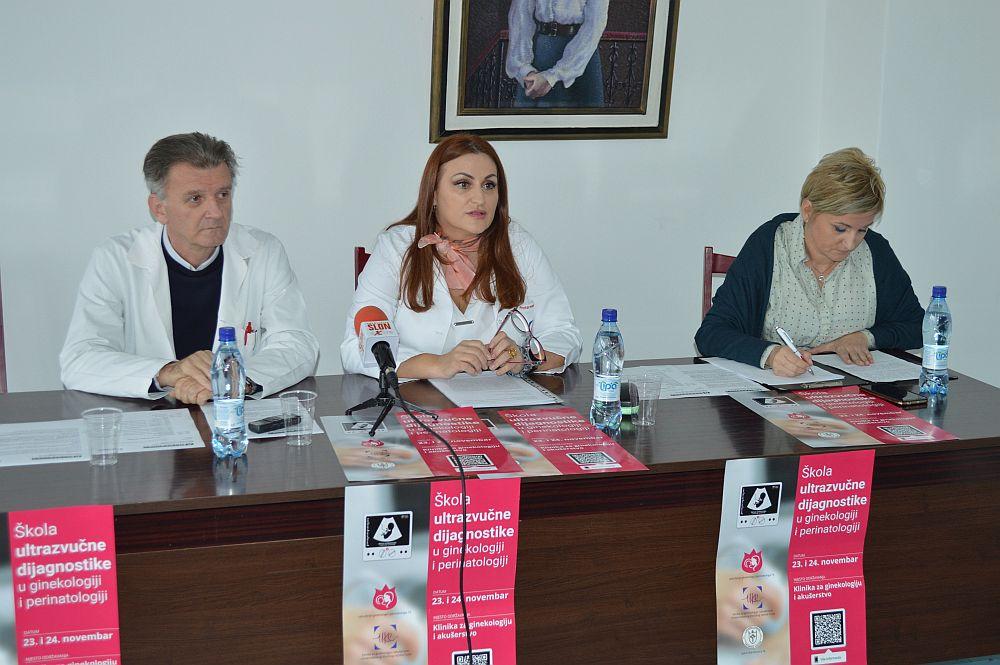 UKC Tuzla: Škola ultrazvuka u ginekologiji i perinatologiji