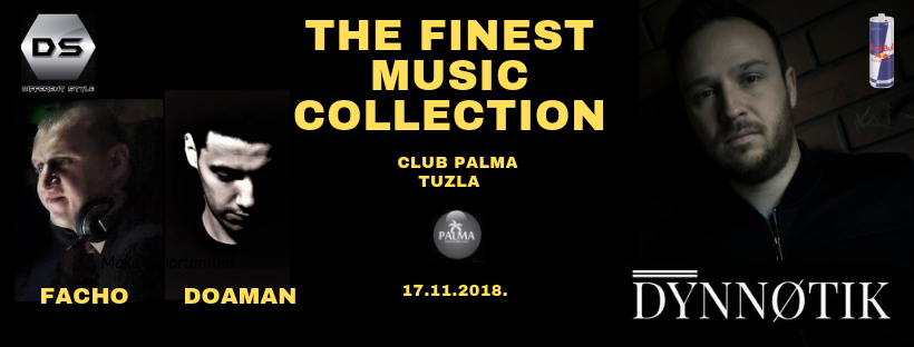 """Finest Music Collection"" i DJ workshop @Palma 17.11.2018. by Different Style"