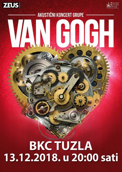 Akustični rock spektakl benda Van Gogh stiže u Tuzlu