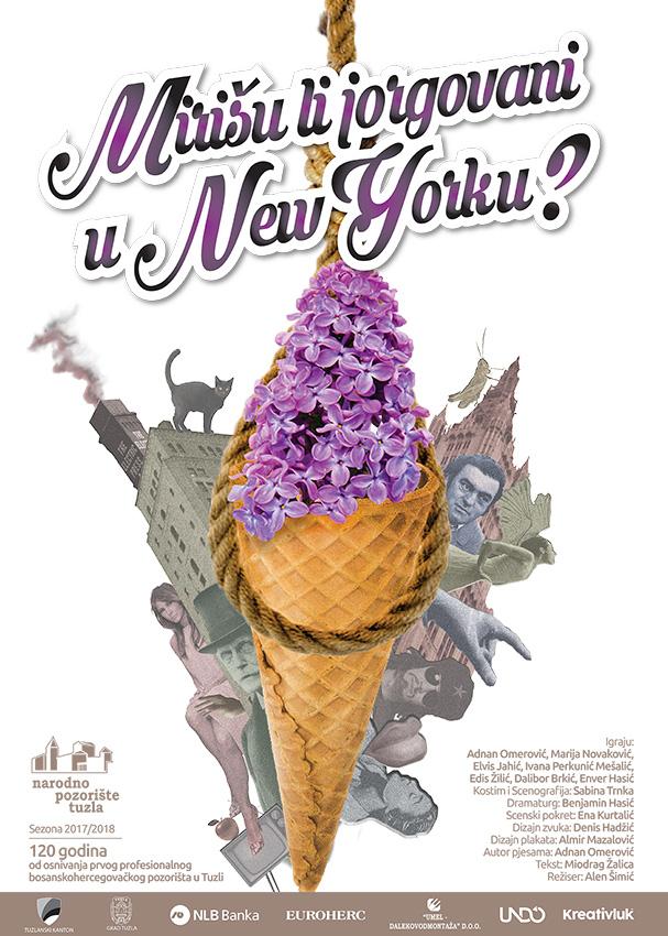 """NP Tuzla: Na repertoaru predstava """"Mirišu li jorgovani u New Yorku"""""""