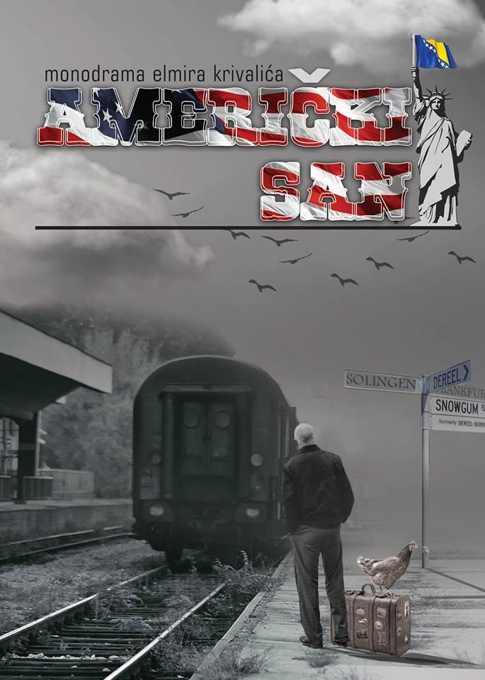 """Komedija """"Američki san"""" u ponedjeljak na Velikoj sceni BKC-a Živinice"""