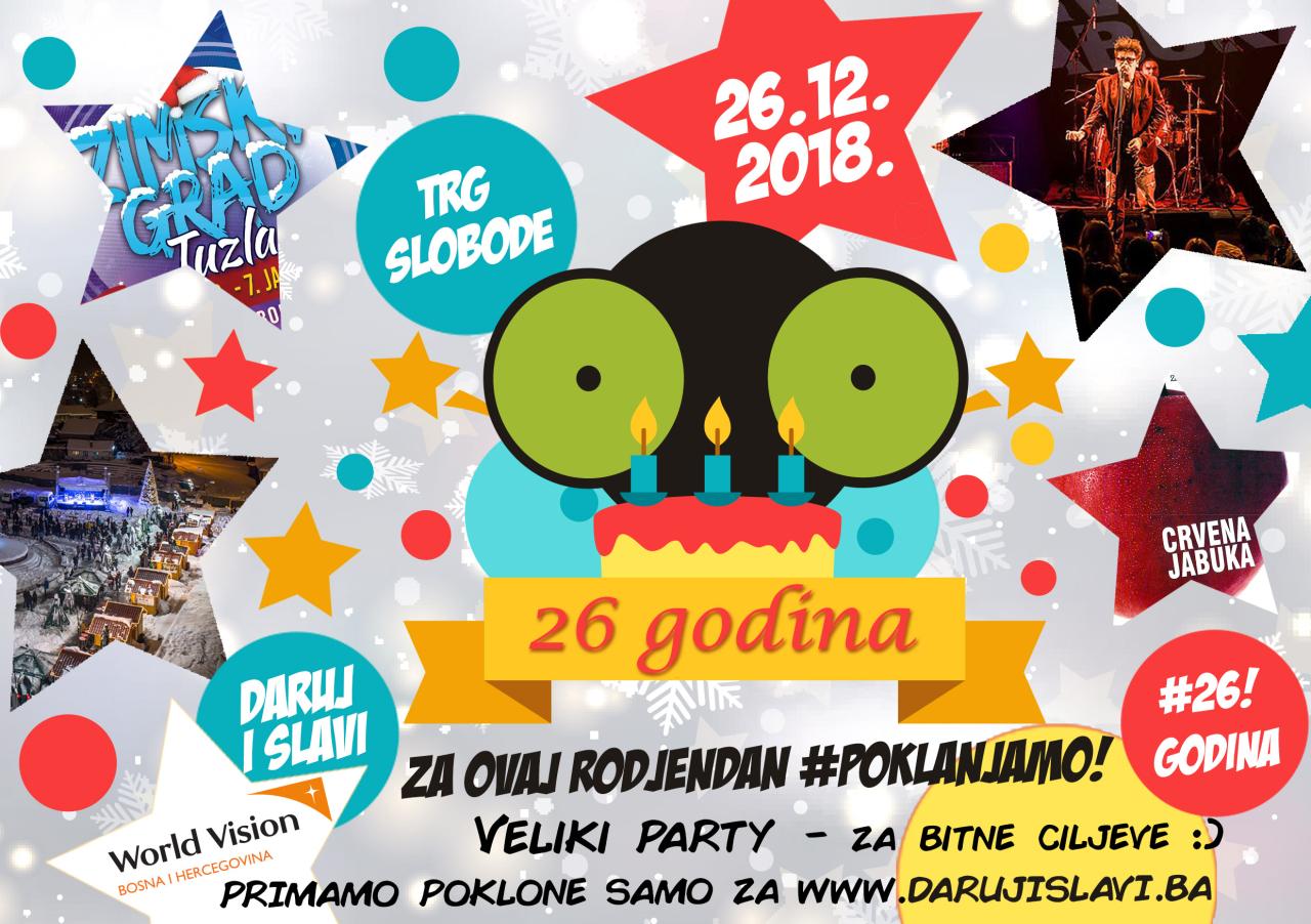 Radio Kameleon daruje svoj 26 rođendan ranjivoj djeci Bosne i Hercegovine