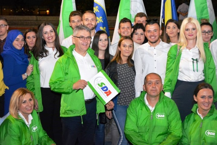 Svečana akademija u povodu 28. godišnjice od osnivanja Asocijacije mladih SDA u Tuzli