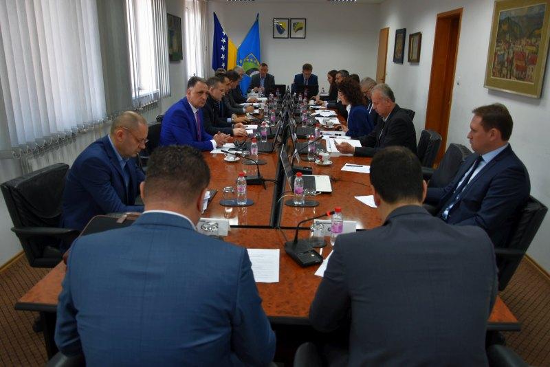 Vlada TK usvojila Izvještaj o radu Ministarstva pravosuđa i uprave