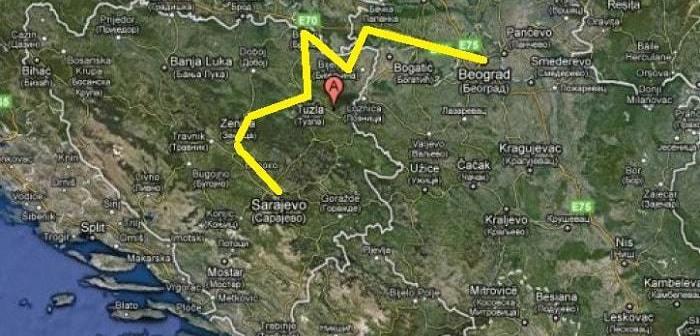 Koliko će koštati vožnja autoputem od Sarajeva do Beograda