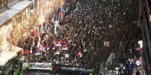 Predstavnici opozicije koji u Beogradu predvode proteste dali policiji rok do danas u 15 sati za puštanje svih uhapšenih demonstranata