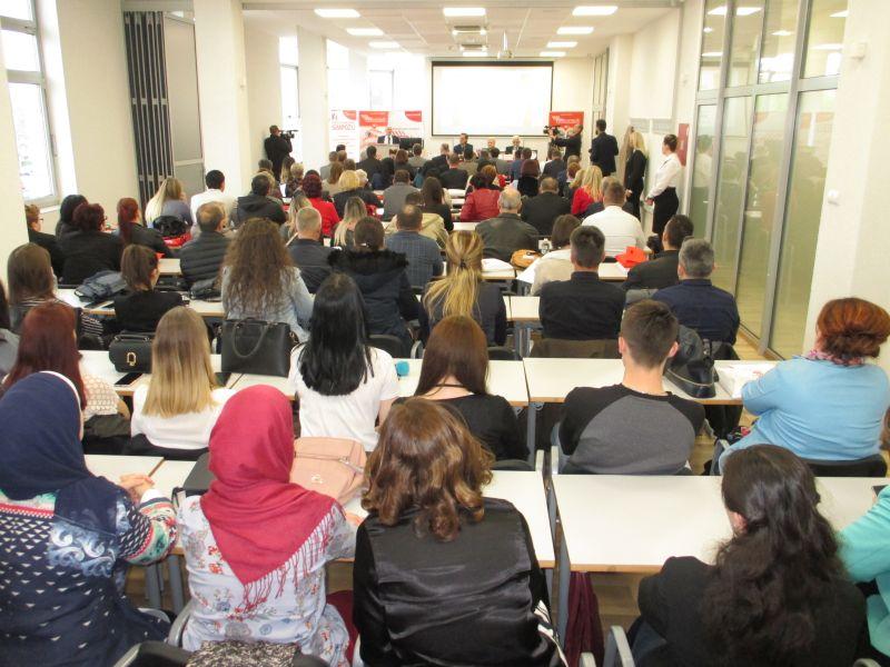 """Na visokoj školi FINra započeo 7. Međunarodni simpozij na temu: """"Savremeni izazovi korporativnog upravljanja""""."""