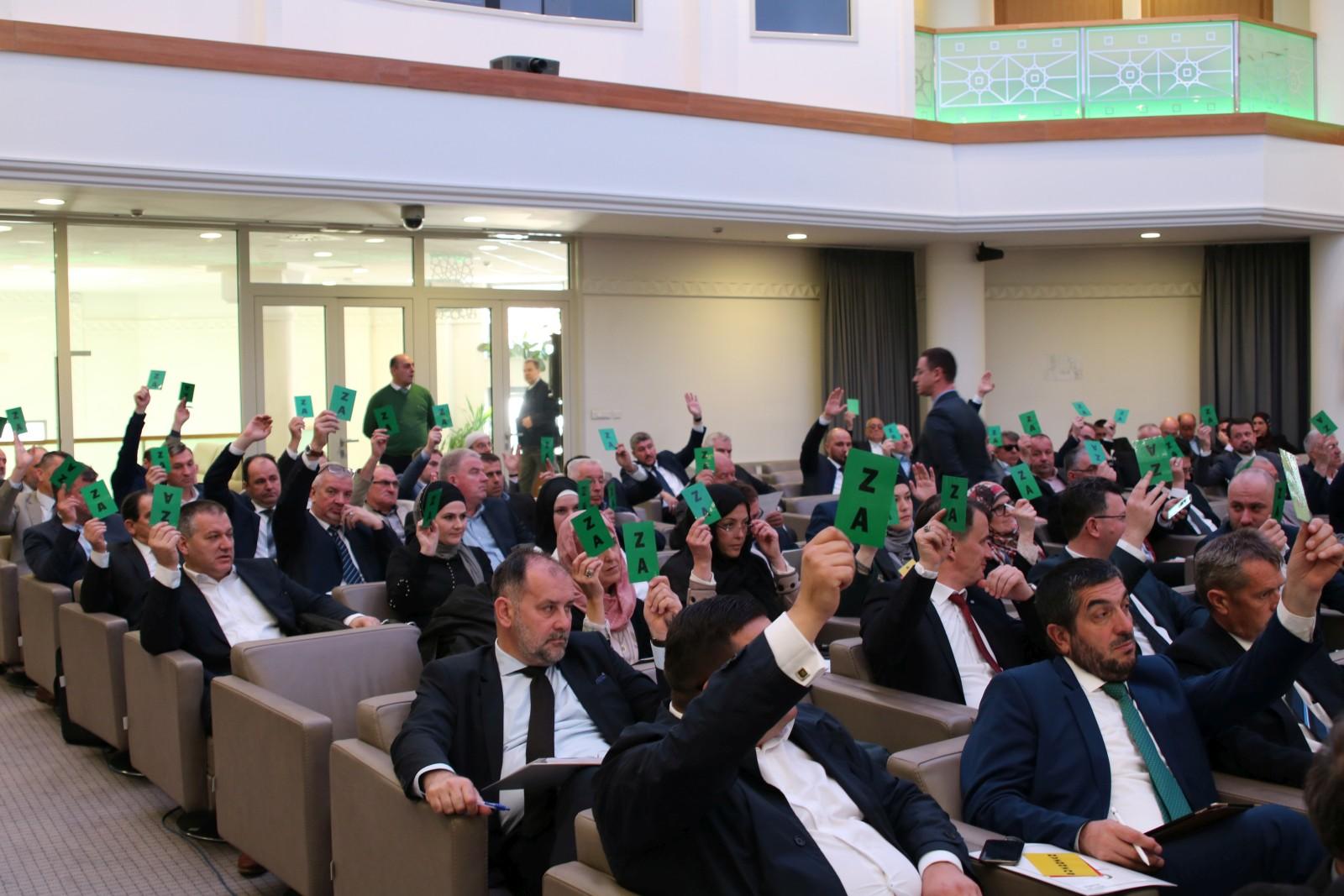 Safet Softić izabran za predsjednika Sabora Islamske zajednice u BiH