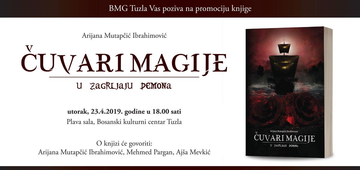 """Promocija knjige """"Čuvari magije – u zagrljaju demona"""" autorice Arijane Mutapčić Ibrahimović"""