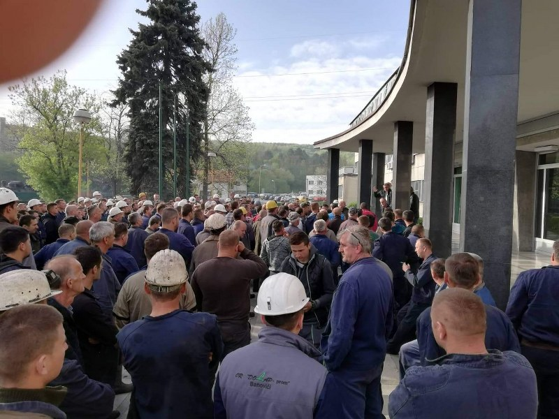 OO SDA Banovići: Dajemo punu podršku rudarima RMU Banovići u borbi za njihova radnička prava i dostojanstvo