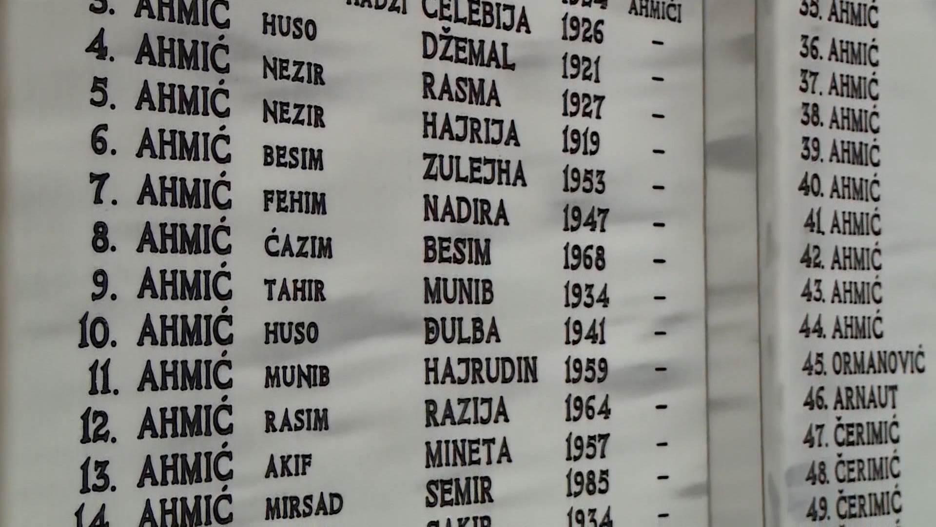 """S porukom """"Tragamo za istinom i gradimo suživot"""", u Ahmićima se danas obilježava 26. godišnjica stradanja 116 civila bošnjačke nacionalnosti"""