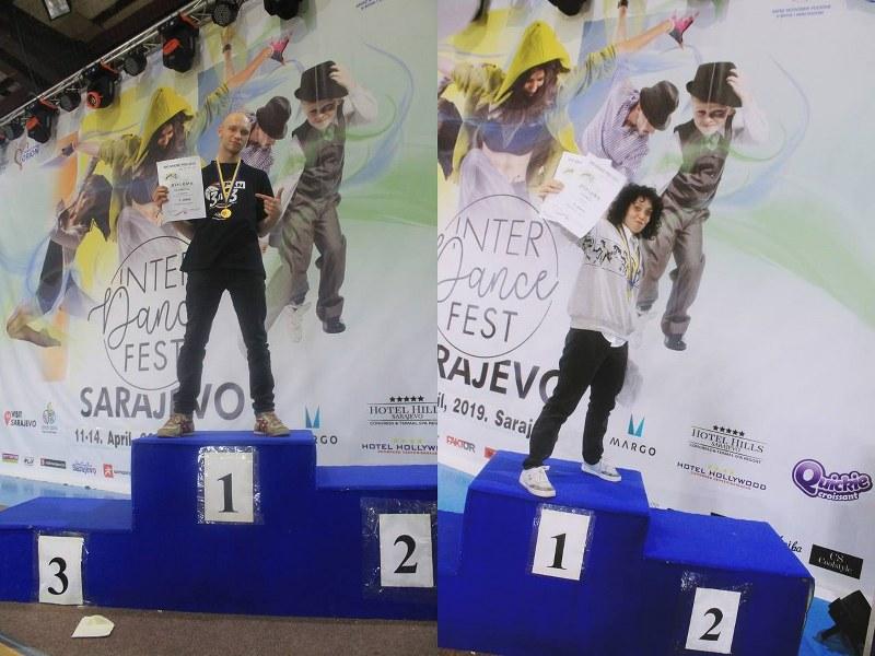 Takmičari Univerzitetskog plesnog kluba osvojili tri zlatne medalje