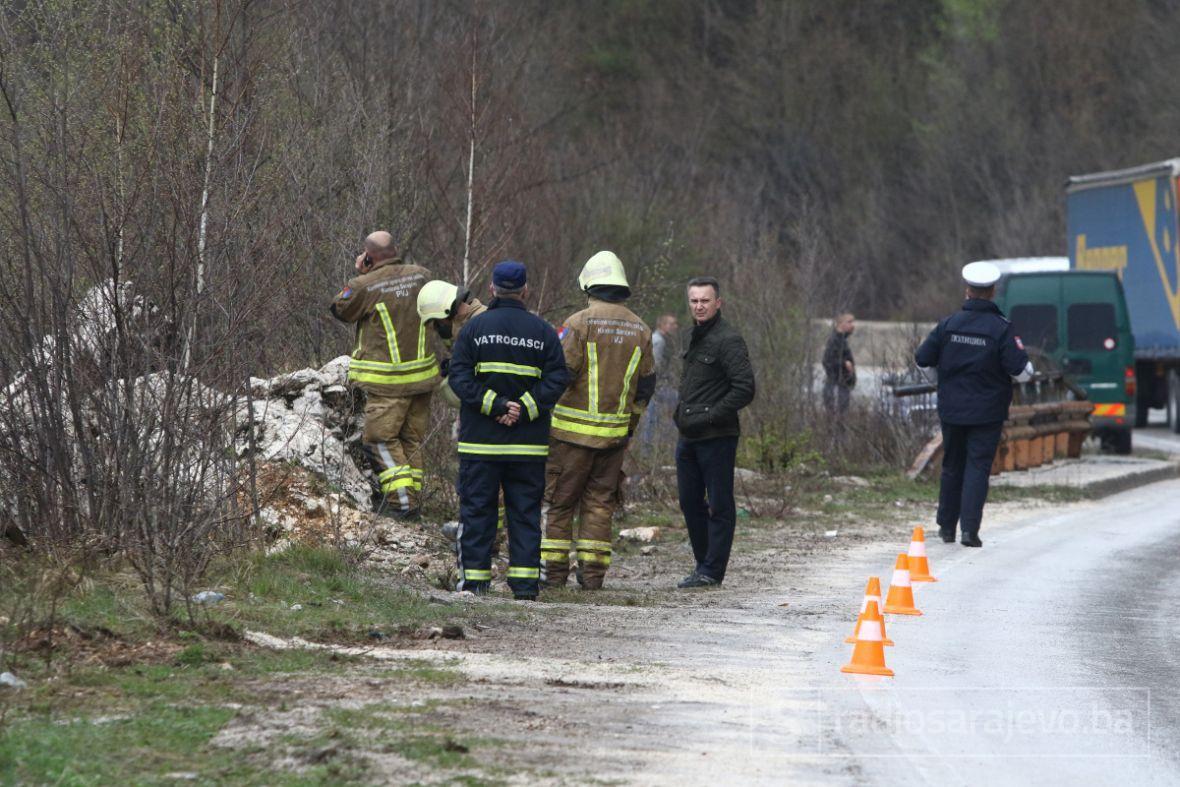 Iz Miljacke izvučena tijela stradalih u saobraćajnoj nesreći