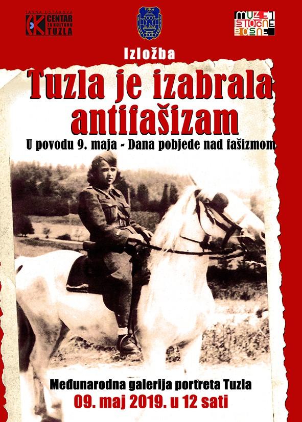 Najava izložbe: Tuzla je izabrala antifašizam