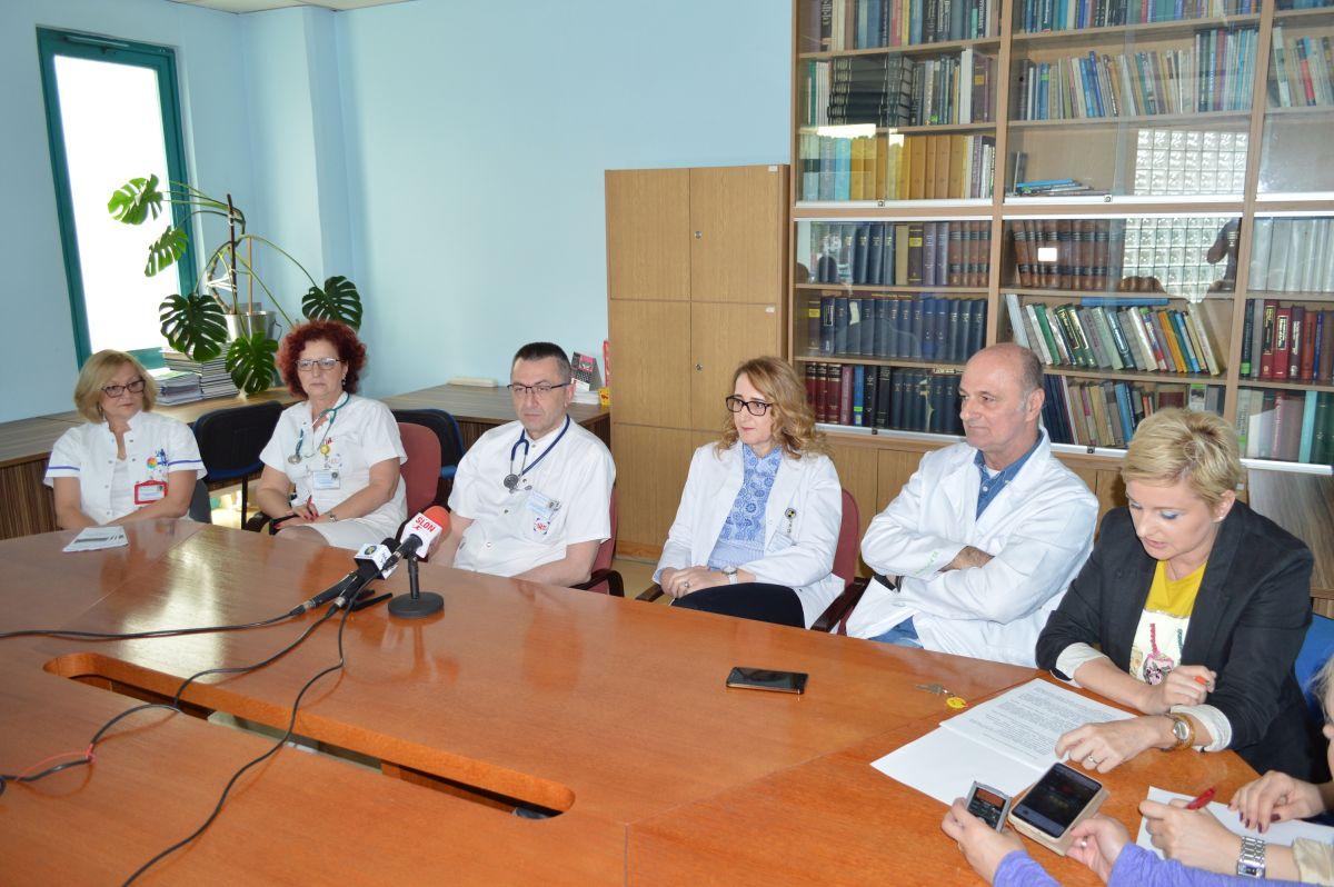 UKC Tuzla: U povodu Dana borbe protiv multiple skleroze održana konferencija za novinare