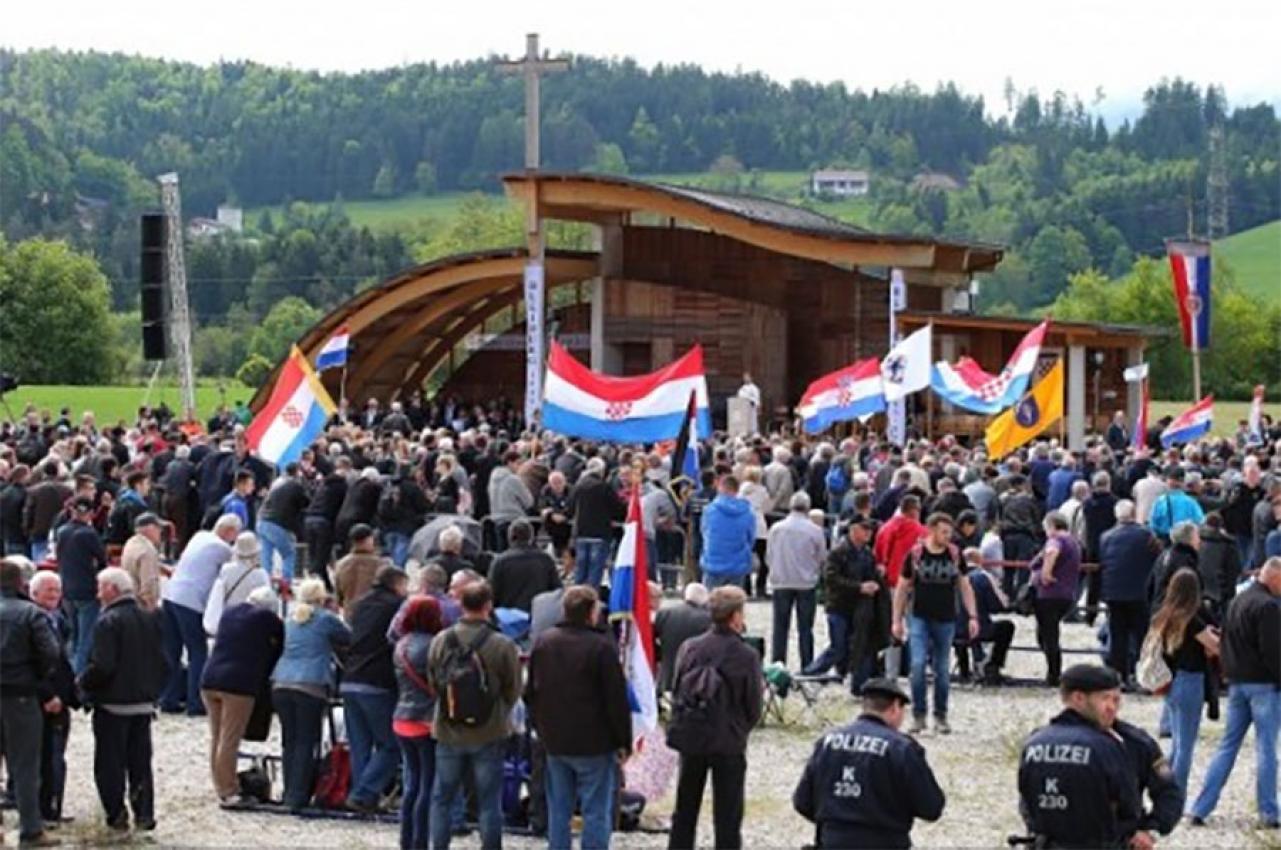Na Lojbaškom polju pored Bleiburga obilježena je 74. obljetnica Križnog puta