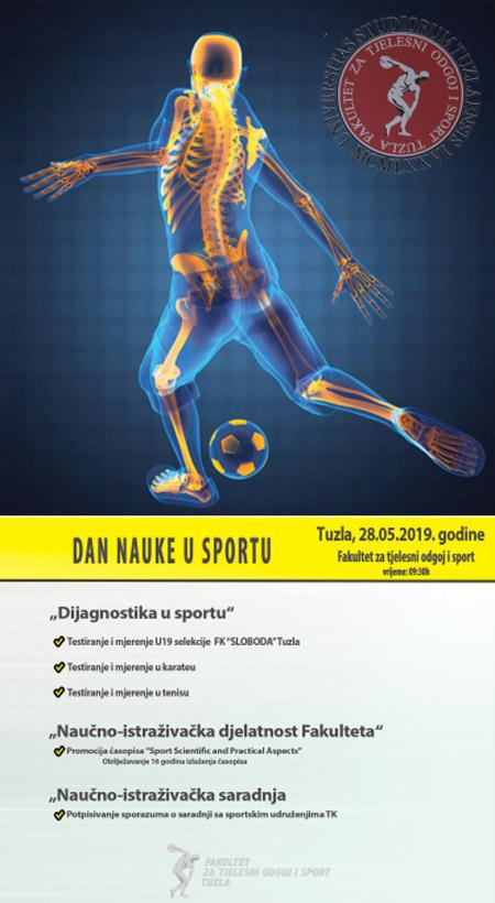 """""""Dan nauke u sportu"""" na Fakultetu za tjelesni odgoj i sport Univerziteta u Tuzli"""
