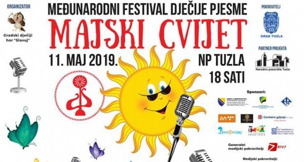 """Međunarodni festival dječije pjesme """"Majski cvijet"""" u Tuzli"""