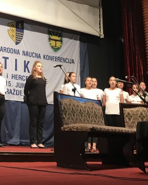 """Profesori iz Tuzle na međunarodnoj konferenciji """"Etika Bosne"""" u Goraždu"""