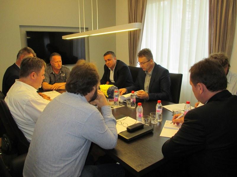 Sastanak sa predstavnicima Općine Lukavac, MZ i udruženja u vezi izrade Prostornog plana TK sa akcentom na deponiju šljake i pepela Šićki Brod