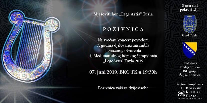 "Svečanim koncertom i takmičenjem dječijih horova u Tuzli počinje 4. Internacionalni horski šampionat ""Lege Artis"""