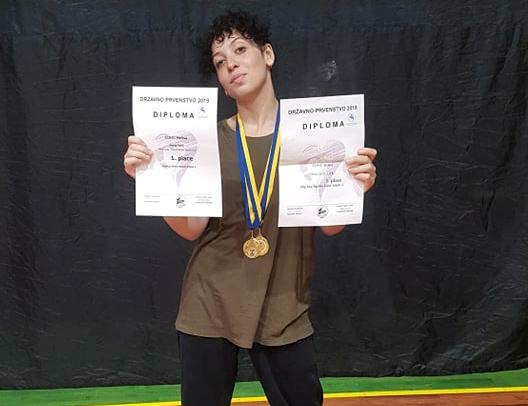 Hip hop battle: Melisa Činić osvojila zlatnu medalju