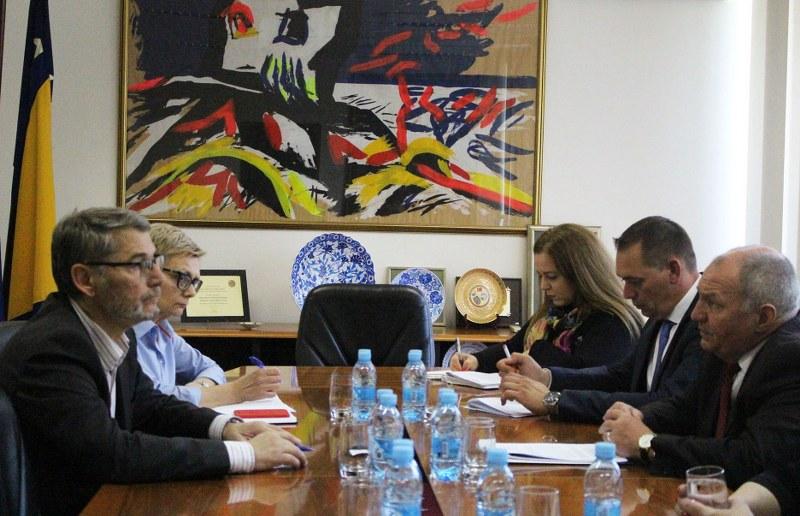 Gradonačelnik Tuzle se sastao sa zamjenikom šefa Misije OSCE-a u Bosni i Hercegovini