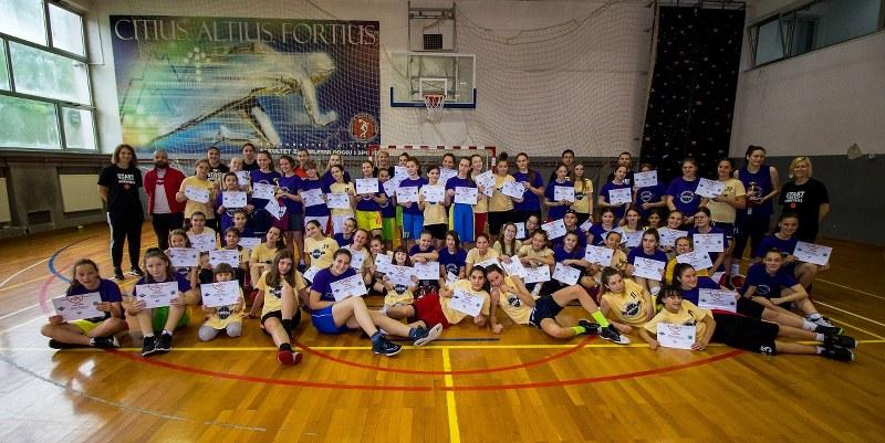 "Projekat ""START with Love, START with Basketball"" okončan druženjem i takmičenjem u Tuzli"