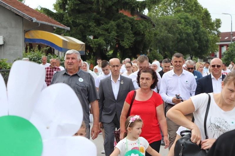 Ramiz Salkić u Odžaku prisustvovao obilježavanju godišnjice genocida u Srebrenici