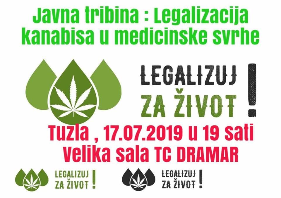 Javna tribina: Legalizujte kanabis u medicinske svrhe