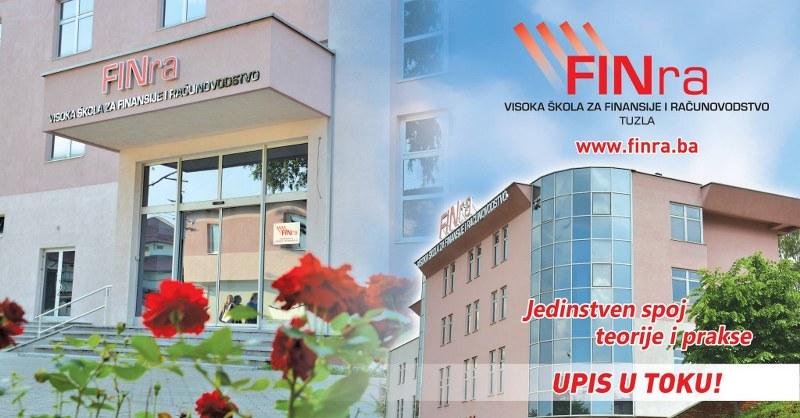 Visoka škola FINra  je počela sa upisom studenata u akademsku 2019/20. godinu