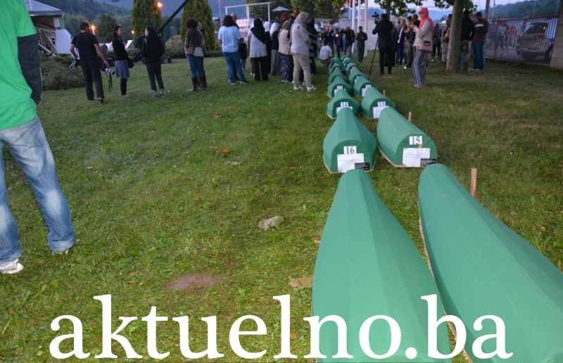 Danas dženaza i ukop za 33. žrtve genocida u Srebrenici
