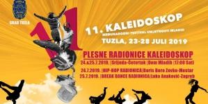 Plesne radionice u okviru Kaleidoskop festivala