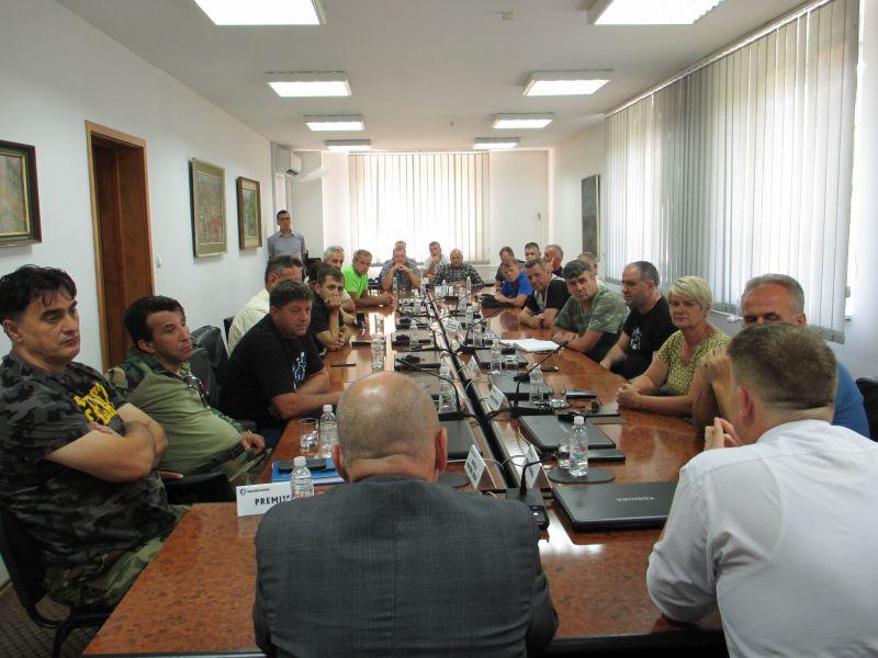Razgovor o implementaciji Zakona o pravima demobilisanih branilaca
