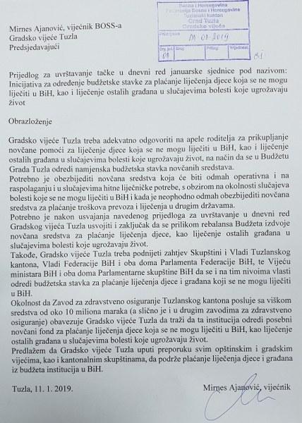 BOSS: Inicijativa za finansiranje liječenja djece van BiH ugledala svjetlo dana