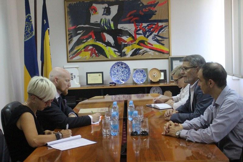 Tuzla: Upriličen prijem za ambasadora Velike Britanije u BiH