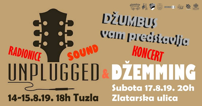 Tradicionalni Džumbus Džemming sa Unplugged Sound sadržajem + novi DJ Party