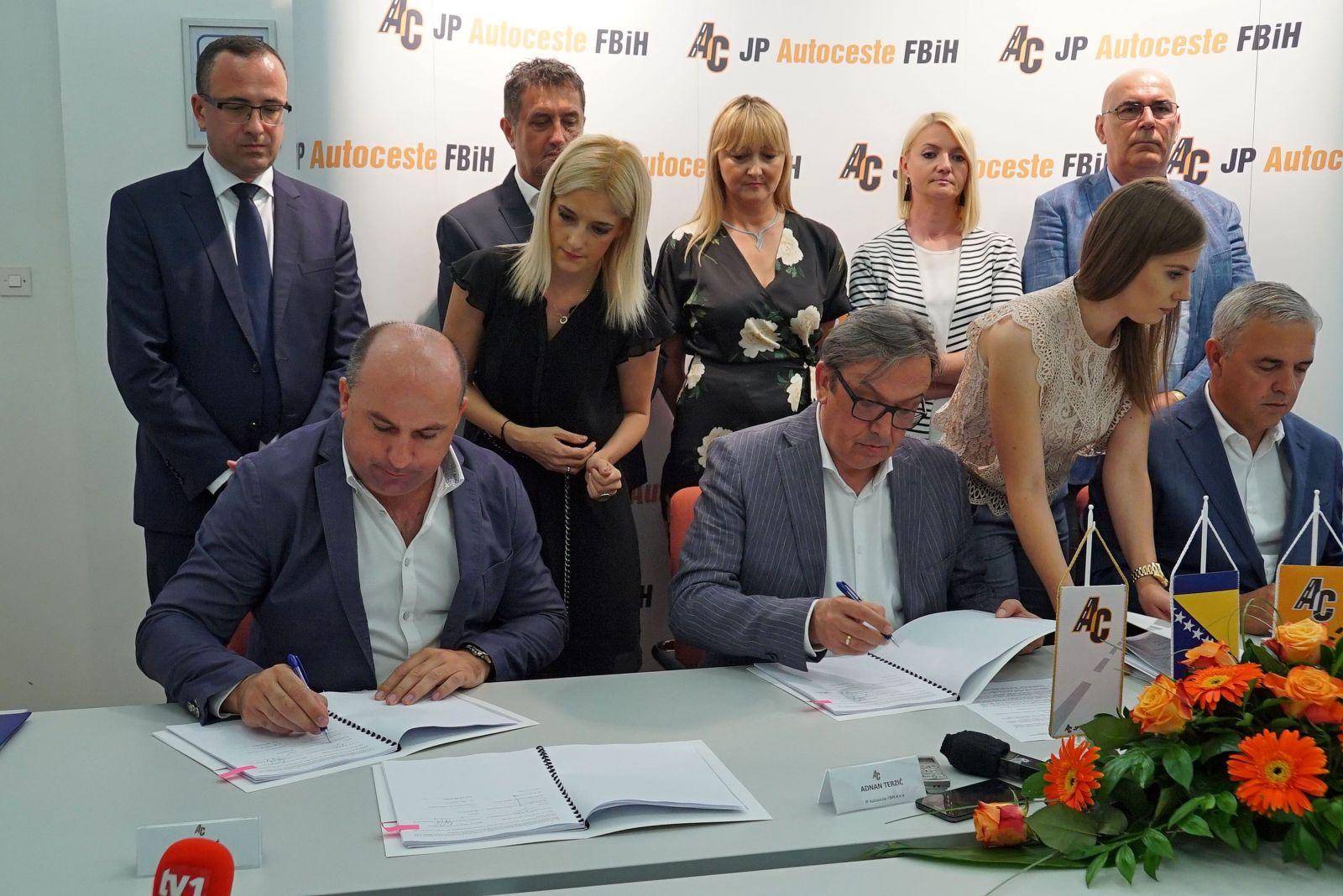 Potpisan ugovor o izgradnji poddionice Ponirak – Vraca na Koridoru Vc