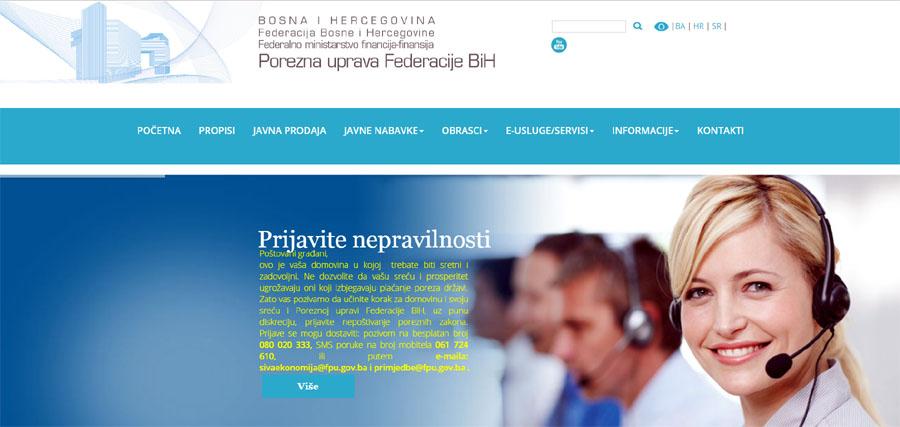 Porezna uprava Federacije BiH: Ne otvarati poruke koje stižu sa lažnih e-mail adresa